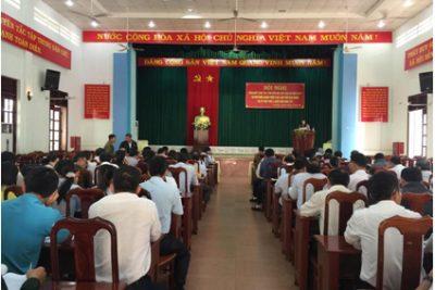 Huyện CưM'gar Tổng kết cuộc thi tìm hiểu Bộ Luật dân sự năm 2015